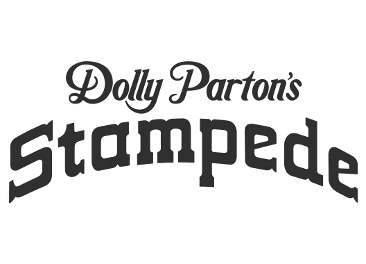 Dolly Parton's Stampede Logo